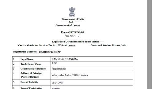 Registration-Certificate